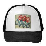 Retro Diamond Shaped Car Wash Sign Trucker Hat