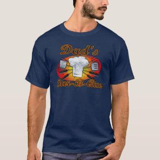 Retro Diner, Dad's Bar-B-Que T-Shirt
