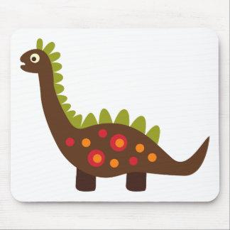 retro dinosaur mouse pad