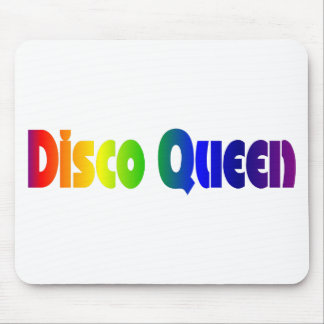 Retro Disco Queen | 70's Rainbow Mouse Pad
