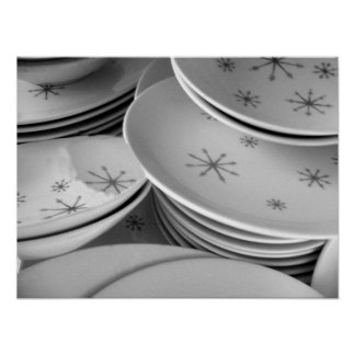 RETRO DISHES II POSTER