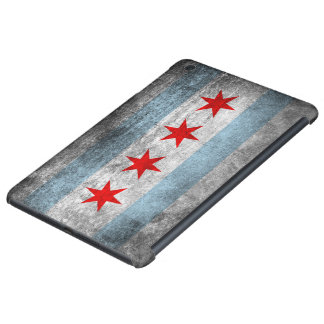 Retro Distressed Chicago Flag iPad Mini Retina Case