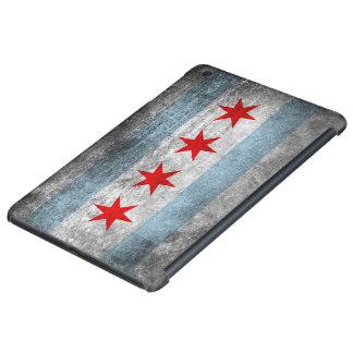 Retro Distressed Chicago Flag iPad Mini Cover