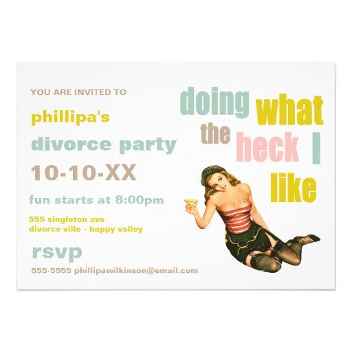 Divorce Party Invitations is the best ideas you have to choose for invitation example