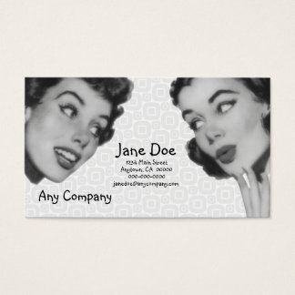 Retro Do Tell Business Card