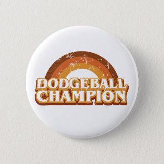Retro Dodgeball Champion Button
