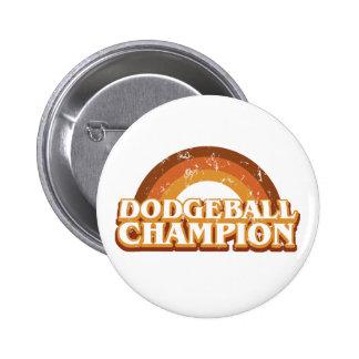 Retro Dodgeball Champion Button
