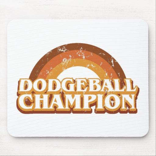 Retro Dodgeball Champion Mousepad