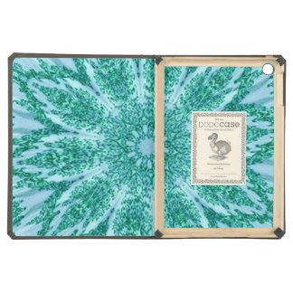 Retro Doily Green Teal Kaleidoscope Case For iPad Air