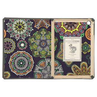Retro Doily Patterns Multicolored Cover For iPad Air