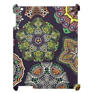 Retro Doily Patterns Multicolored iPad Covers