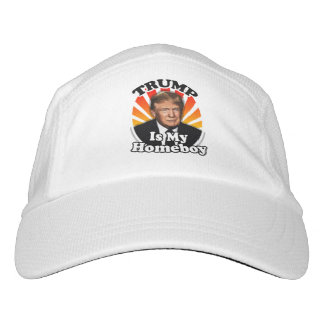 Retro Donald Trump is my Homeboy for President Hat