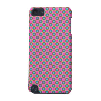 Retro Dot Pattern - Pink Yellow Blue iPod Touch 5G Cases