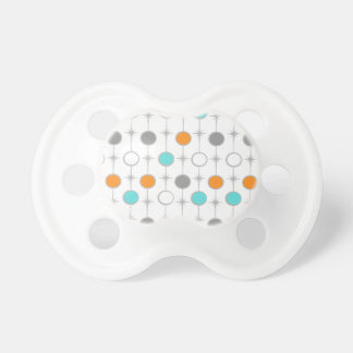 Retro Dots and Starbursts Pacifier
