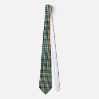 Retro dots stripes Rainbow Tie