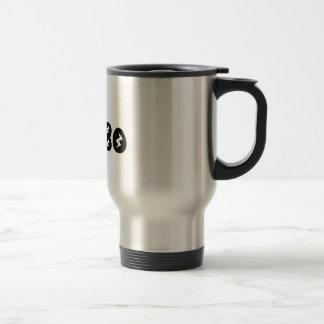 Retro Eighties Man Stainless Steel Travel Mug