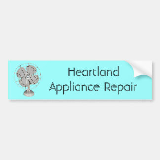 Retro Electric Fan Bumper Sticker