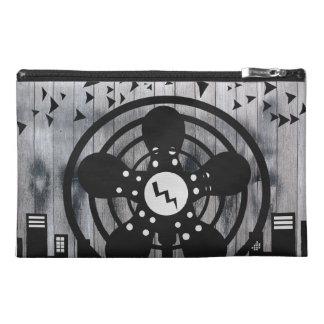 Retro Electric Fan City at Night Travel Accessory Bag