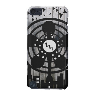 Retro Electric Fan City at Night iPod Touch (5th Generation) Covers