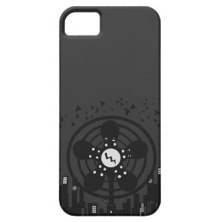 Retro Electric Fan City at Night iPhone 5 Case