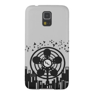 Retro Electric Fan City at Night Case For Galaxy S5