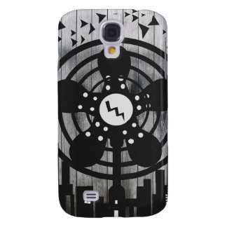 Retro Electric Fan City at Night Galaxy S4 Case