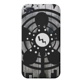 Retro Electric Fan City at Night Case For iPhone 4