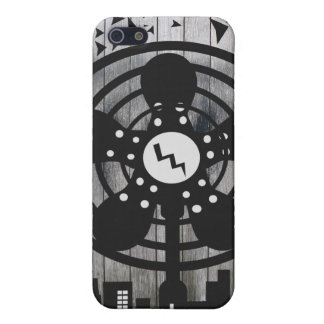 Retro Electric Fan City at Night iPhone 5 Cover