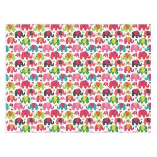 retro elephant kids pattern wallpaper tablecloth