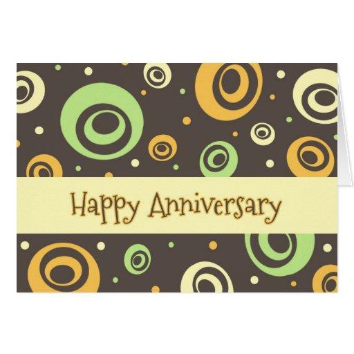 Retro Employee Anniversary Card