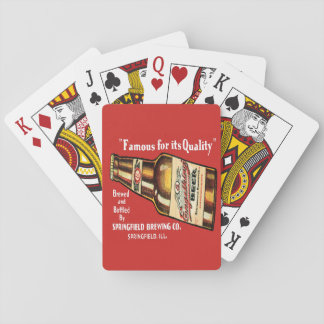 Retro Engelking Beer Playing Cards