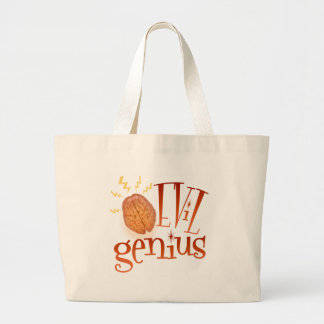 Retro Evil Genius Canvas Bags