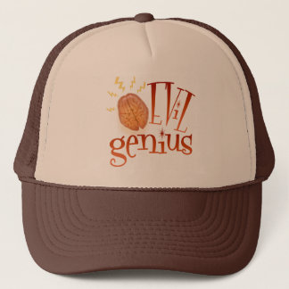 Retro Evil Genius Trucker Hat