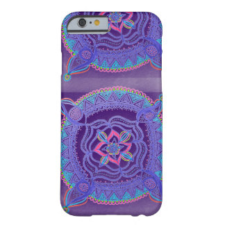 Retro Fade Mandala Barely There iPhone 6 Case