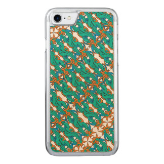 Retro Falling Stars Carved iPhone 7 Case
