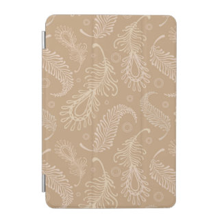 Retro-feater-pale-pattern iPad Mini Cover