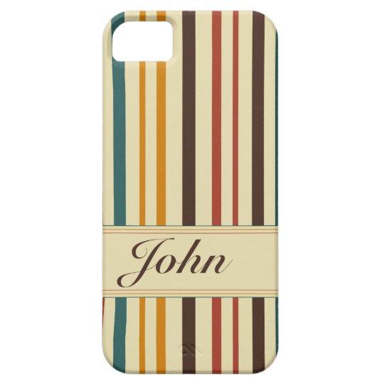 Retro Feel stripes iPhone 5 Covers