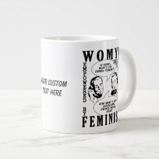 Retro Feminist Humor mugs
