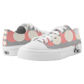 Retro Fifties Design Pattern Sneakers