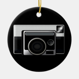 Retro Film Camera Christmas Ornament