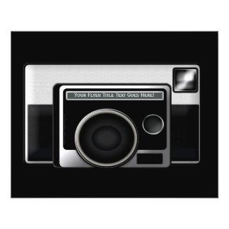 Retro Film Camera Flyer