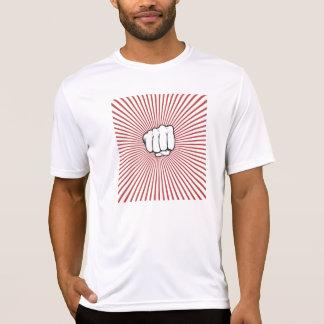 Retro fist bump men's T-shirt