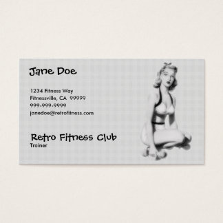 Retro Fitness B/W