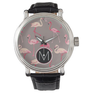 Retro Flamingos | Monogram Watches