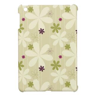 Retro Floral Background iPad Mini Cover