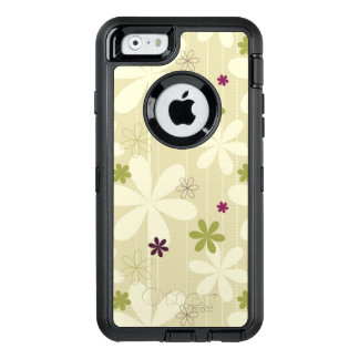 Retro Floral Background OtterBox iPhone 6/6s Case