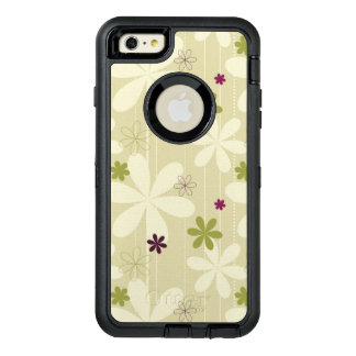 Retro Floral Background OtterBox iPhone 6/6s Plus Case