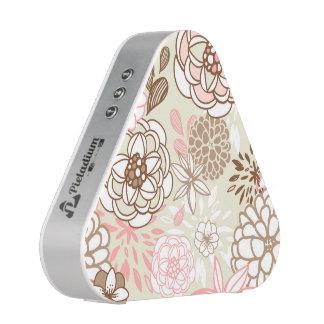 Retro Floral Design in Pink