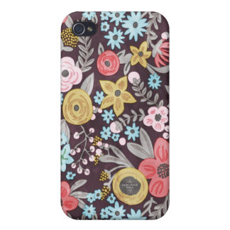 Retro Floral iPhone 4 Case