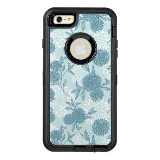 Retro Floral Pattern 2 2 OtterBox Defender iPhone Case
